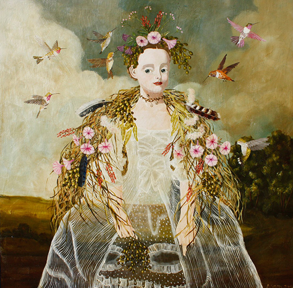 Avia flora on panel Anne Siems