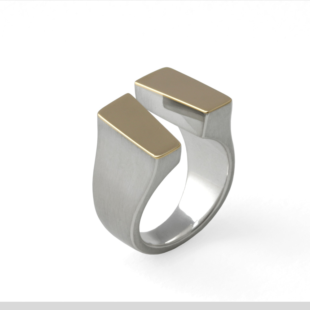 remember zilver open model ring
