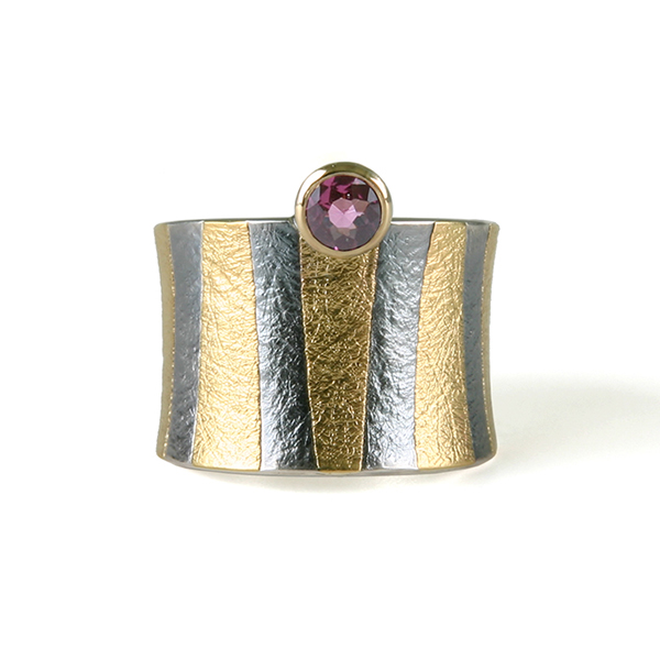 A new ring with ruby, an accidental model and ingredients for a necklace