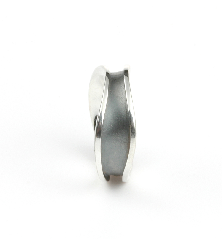 Partner ring TOGETHER in silver