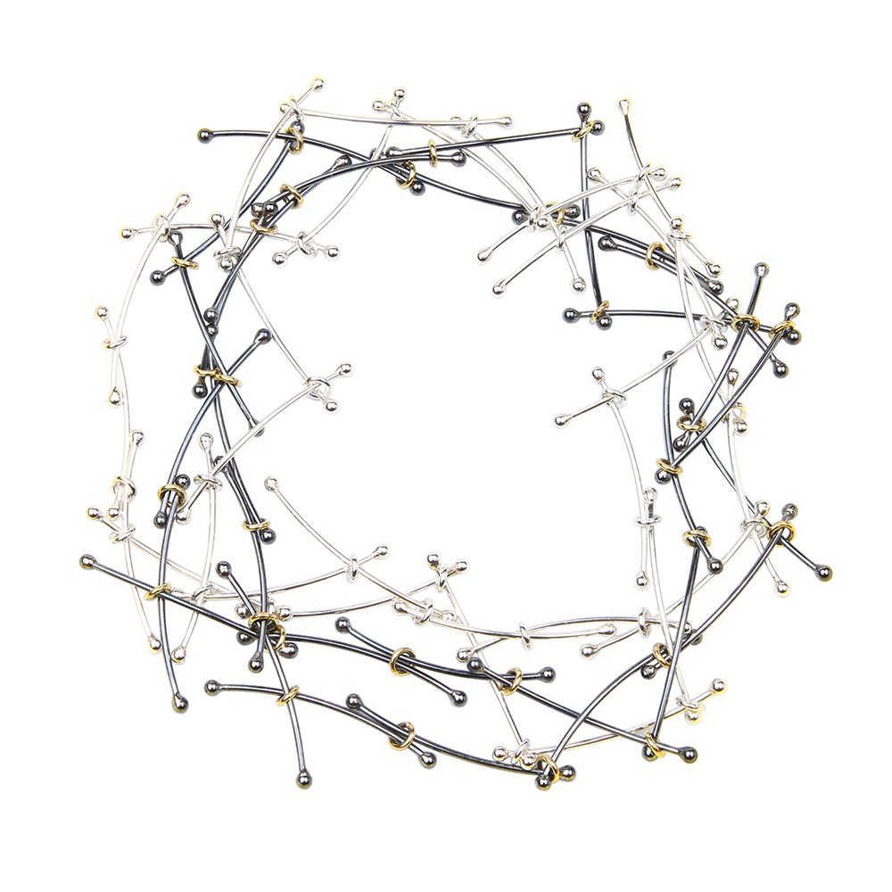 Lang collier Daisy Chain