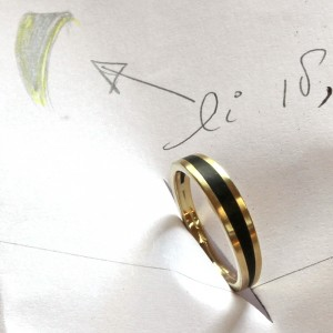 Ring made of own gold