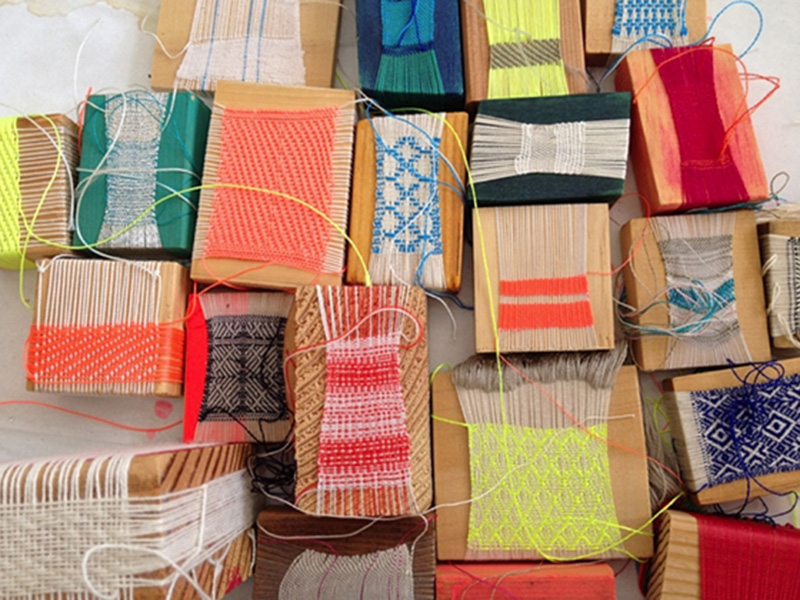 Is weaving the new knitting?