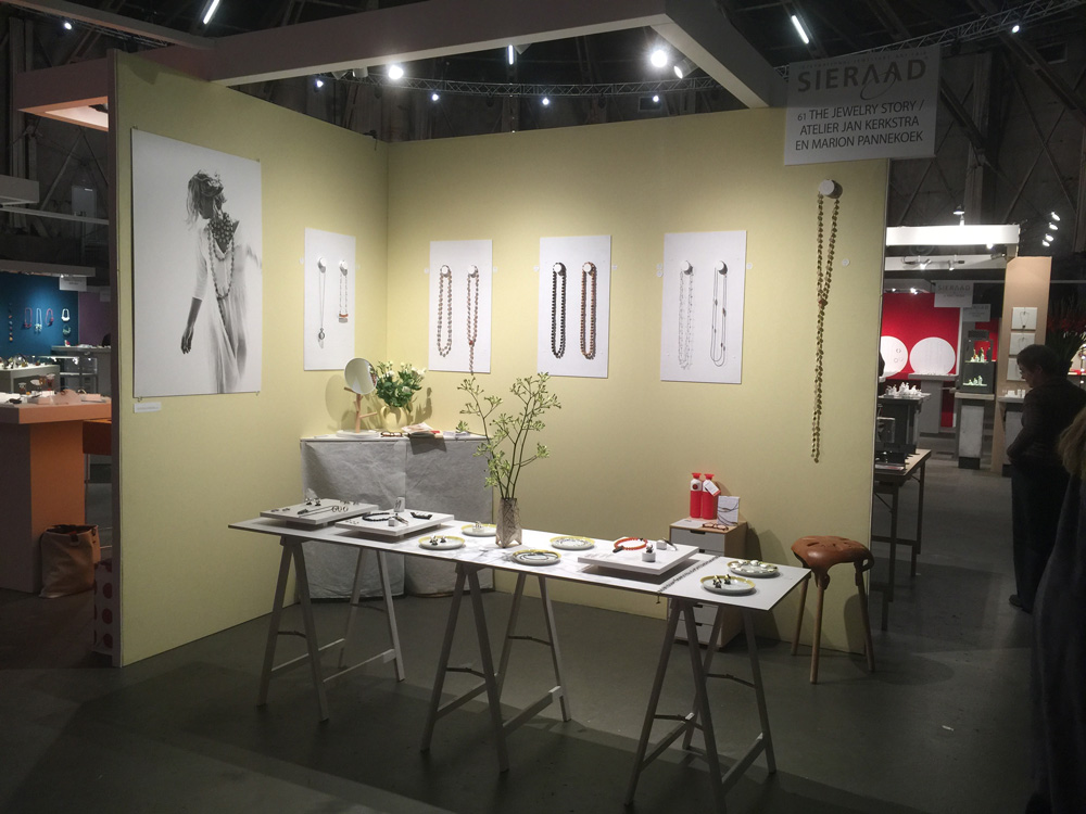Jewelry Exhibition Stand Design : Back home from sieraad art fair 2015 the jewelry story