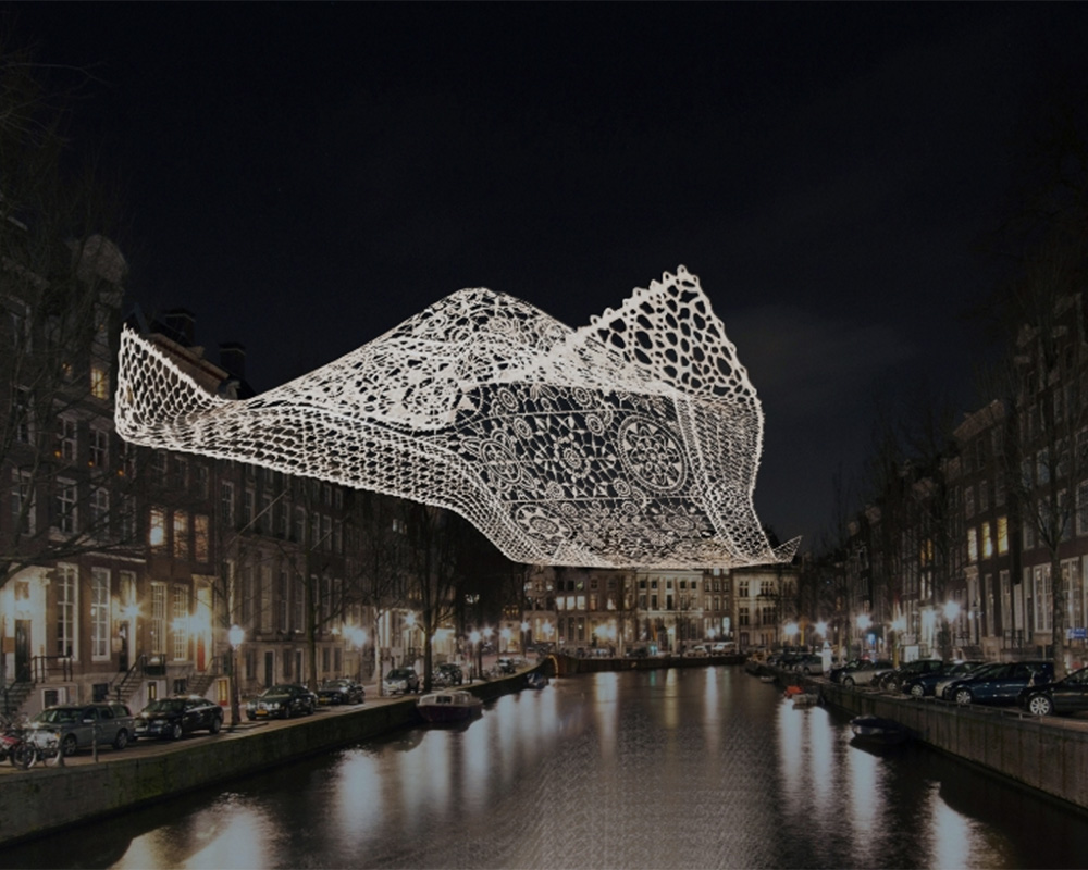 Light festival 2017 in Amsterdam