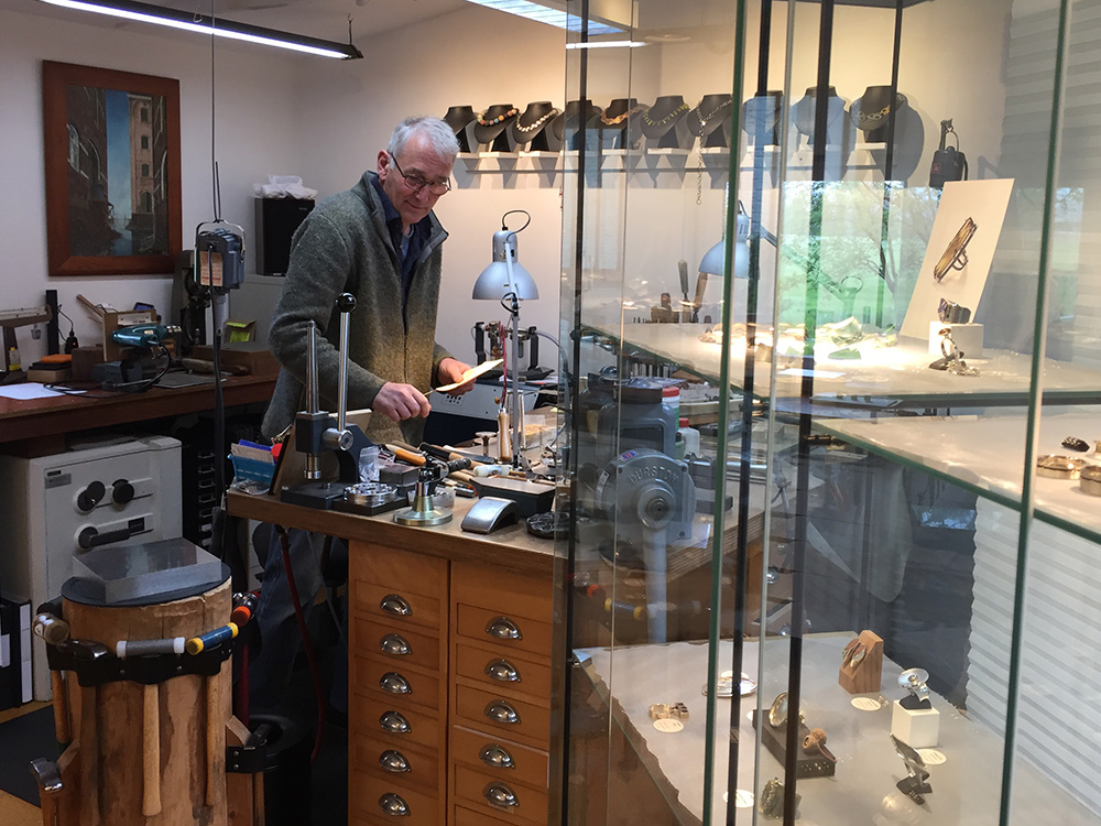 Jewelry classes in Heerenveen by Jan Kerkstra