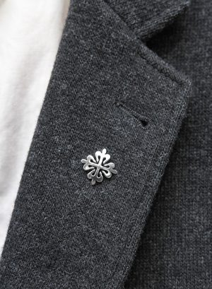 Calatrava Cross Lapel Pin